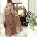 ワンピース 結婚式 パーティードレス フォーマルドレス ドレス お呼ばれ フォーマル 大きいサイズ 服装 大人 服 ミセ…