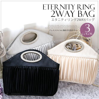 I do not put it on with more than party bag wedding ceremony clutch bag ★ party bag ★ party bag size grain サテンコサ - ジュパーティーバッグ large-capacity party bag size grain party bag deep-discount b042 et al.