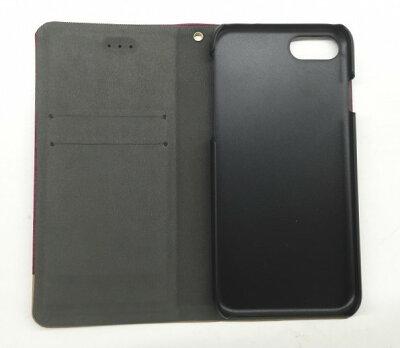 iPhone7手帳型ケースiPhoneケース完全対応iPhone6iP6バイカラー青グレーアイフォン7手帳型ブックタイプフルカバーカード収納ハードケーススマホケースカバーシェルケース緑赤グリーンブルーシンプルクール10P28Sep16