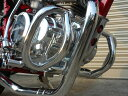 エイプ50/100 エンジンガード 新品 メッキ マフラー APE