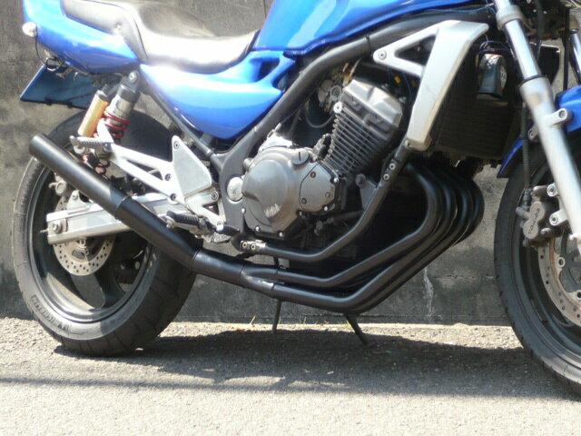 バリオス2 ショート管 60π 新品 マフラー ブラック