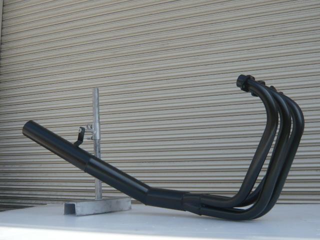 GSX400 インパルス GK79A ショート管 70π 新品 マフラー ブラック