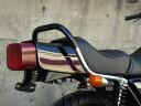 Z400FX メッキ極太ゴム巻きタンデムバー