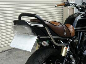 ZRX400/2 メッキ極太ゴム巻きタンデムバー