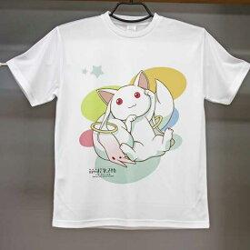 劇場版魔法少女まどか☆マギカドライメッシュTシャツキュゥべえ柄サイズM・L・XLから選べます