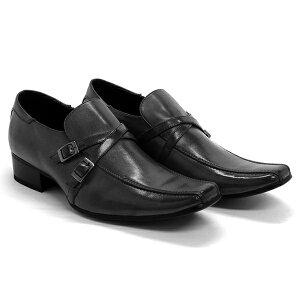 W belt Round 2・ビジネスカジュアルシューズ男性・ビジネスシューズ・ビジネスカジュアルシューズ・カッコイイ ビジネス 靴・おしゃれ 靴 紳士・本革ビジネスシューズ・激安ビジネスシュ
