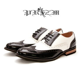 8188296b792df NewStageCombi Dress Shoes本革(コンビウィングチップ)