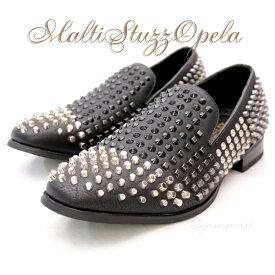 NewStuzzOplaShoes マルチスタッズオペラシューズ・スタッズオペラ、ルブタン・とんがり靴・ポインテッドトゥー・ドレスシューズ・ホストシューズ・結婚式シューズ・イタリアンシューズ・カッコイイシューズ・白い靴・エナメルシューズ・パーティーシューズ