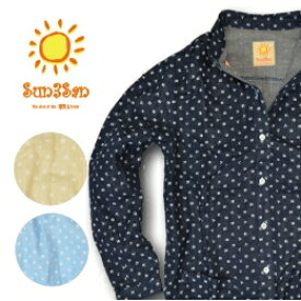 「Sun3San(サンサンサン)」ガーゼチュニック/S3S-GC1235