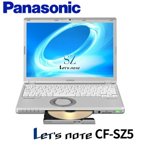 レッツノート WPS Office付き Windows10 Panasonic Let's note SZ5 CF-SZ5PD6KS Core i5 第6世代 6300U 2.40GHz 4GB SSD 128GB DVDスーパーマルチ Bluetooth カメラ HDMI 3ヶ月保証【あす楽】【中古】【消費税込】【送料・代引手数料無料】