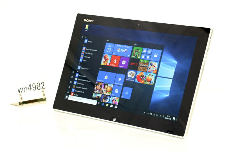 中古 タブレットPC Windows10 SONY VAIO Tap 11 SVT1122BCJ Core i5 4210Y 1.50GHz 4GB SSD 128GB Bluetooth タッチパネル カメラ 3ヶ月保証【あす楽】【中古】【消費税込】【送料・代引手数料無料】
