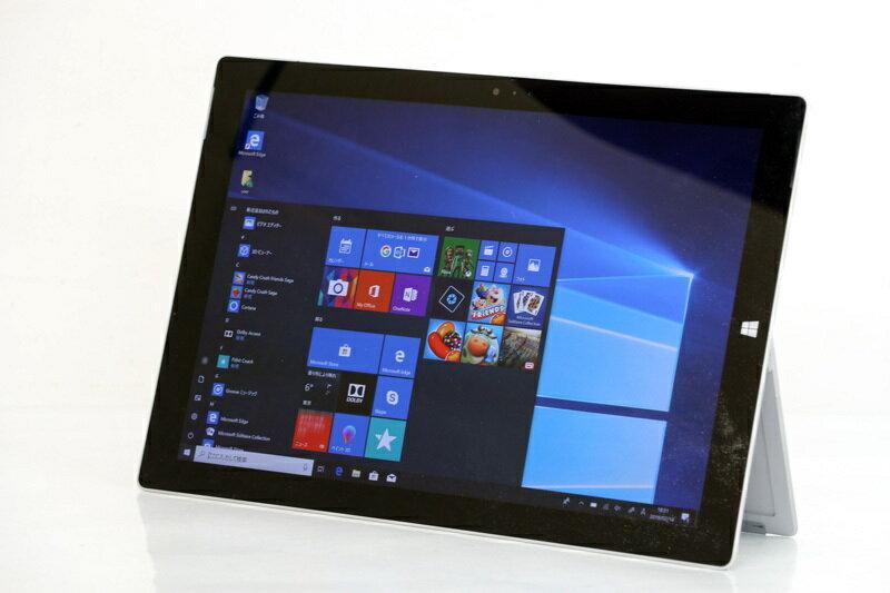 タブレットPC Microsoft SURFACE PRO 3 Core i5 4300U 1.90GHz 4GB SSD 128GB Windows10 Bluetooth タッチパネル カメラ ノートPC パソコン ノートパソコン 3ヶ月保証【あす楽】【中古】【消費税込】【送料・代引手数料無料】