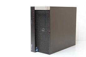 あす楽 デスクトップ 本体 CAD用に Windows10 DELL PRECISION 7600 QC/Xeon E5-2609 2.40GHz CPU1基 NVIDIA Quadro K4000搭載 メモリ 64GB HDD 1TB SSD 256GB DVDスーパーマルチ 3ヶ月保証【中古】【税込】【送料・代引手数料無料】