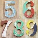 木製 数字 アルファベット 切り文字 オブジェ 『56789』 高さ18cm ボート再生家具 イニシャル インテリア 無垢材 古材 リサイクルウッド リユース木材 hrf18-56789