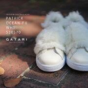 パトリックスニーカー靴オーシャンファー2ホワイトPATRICKOCEAN-F2WHT530570レディース2018FWモデル