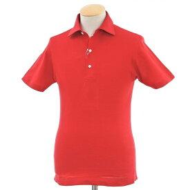 【新品】オリアン ORIAN 鹿の子 ワイドカラー 半袖ポロシャツ レッド【サイズXS】【RED】【S/S】【状態ランクN】【メンズ】【10703-956380】【1万円以上送料無料】[2105CPD]