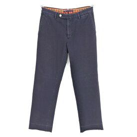 【最終価格】【中古】ジーティーアー G.T.A コットンジャージー スラックスパンツ ネイビー【サイズ46】【NVY】【S/S/A/W】【状態ランクC】【メンズ】【10904-956372】[2011CPD]