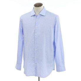 【新品】ギローバー GUY ROVER ストライプ ワイドカラーシャツ ライトブルー×ホワイト【サイズXXL】【BLU】【S/S/A/W】【状態ランクN】【メンズ】【10602-956575】【1万円以上送料無料】