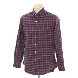 【中古】ラルフローレン Ralph Lauren チェック BDシャツ レッド×イエロー×グリーン系【サイズS】【MLT】【S/S/A/W】【状態ランクB】【メンズ】【10602-956197】【1912APD】