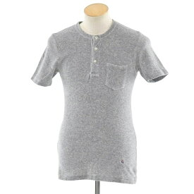 【中古】ギローバー GUY ROVER パイル ヘンリーネック 半袖Tシャツ グレー【サイズS】【GRY】【S/S】【状態ランクB】【メンズ】【10702-956414】【1万円以上送料無料】【1910APD】
