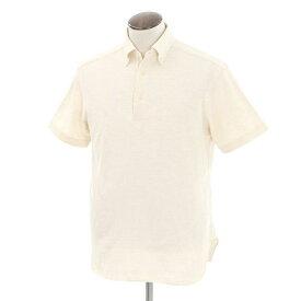 【中古】ギローバー GUY ROVER ボタンダウン 半袖ポロシャツ ライトベージュ【サイズL】【BEI】【S/S】【状態ランクC】【メンズ】【10703-956392】【1万円以上送料無料】【1910APD】