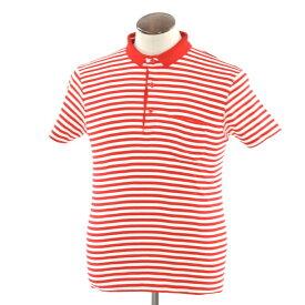【新品】ルトロワ Letroyes ボーダー 半袖ポロシャツ レッド×ホワイト【サイズL】【RED】【S/S】【状態ランクN】【メンズ】【10703-956364】【1万円以上送料無料】[2102APD]
