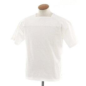 【中古】アンルート EN ROUTE コットンポリエステル 半袖Tシャツ カットソー ホワイト【サイズ1】【WHT】【S/S】【状態ランクC】【メンズ】【10702-956362】【1万円以上送料無料】