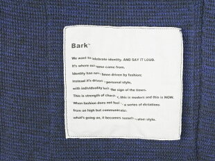 【中古】バークBarkリネンポリエステルニットジャケットネイビー【サイズM】【NVY】【S/S】【状態ランクB】【メンズ