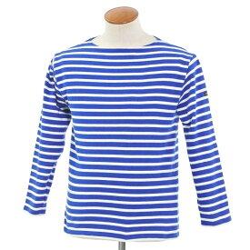 【中古】セントジェームス SAINT JAMES ボーダー バスクシャツ ブルー×ホワイト【サイズ36】【BLU】【S/S/A/W】【状態ランクC】【メンズ】【10701-956250】【1万円以上送料無料】