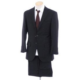 【最終価格】【中古】ビームスエフ BEAMS F ウール 3つボタンスーツ ブラック【サイズ88】【BLK】【A/W】【状態ランクB】【メンズ】【10402-956197】[2103EPD]