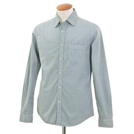 【最終価格】【中古】ロバートフリードマン Robert Friedman カジュアルシャツ セージグリーン系【サイズM】【GRN】【S/S/A/W】【状態ランクC】【メンズ】【10602-956191】[2103EPD]