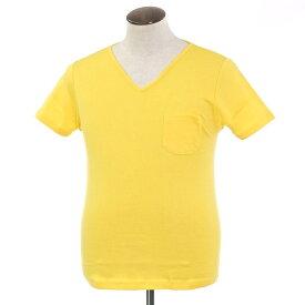 【新品】ルトロワ Letroyes コットン 半袖 Vネック Tシャツ JEAN BP イエロー【サイズL】【YEL】【S/S】【状態ランクN】【メンズ】【10702-956136】
