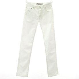 【新品】ヤコブコーエン JACOB COHEN PW688 ストレッチコットン 5ポケットパンツ ホワイト【サイズ29】【WHT】【S/S】【状態ランクN】【メンズ】【10904-956130】