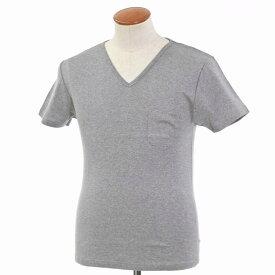 【SALE30%OFF】【返品不可】【新品】ルトロワ Letroyes コットン 半袖 Vネック Tシャツ JEAN BP グレー【サイズM】【GRY】【S/S】【状態ランクN】【メンズ】【10702-956129】
