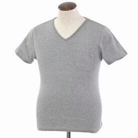 【新品】ルトロワ Letroyes コットン 半袖 Vネック Tシャツ JEAN BP グレー【サイズL】【GRY】【S/S】【状態ランクN】【メンズ】【10702-956130】