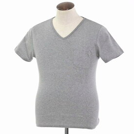 【SALE30%OFF】【返品不可】【新品】ルトロワ Letroyes コットン 半袖 Vネック Tシャツ JEAN BP グレー【サイズL】【GRY】【S/S】【状態ランクN】【メンズ】【10702-956131】