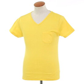 【新品アウトレット】ルトロワ Letroyes コットン 半袖 Vネック Tシャツ JEAN BP イエロー【サイズM】【YEL】【S/S】【状態ランクN-】【メンズ】【10702-956132】【1万円以上送料無料】