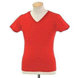 【新品】ルトロワ Letroyes コットン 半袖 Vネック Tシャツ JEAN BP レッド【サイズS】【RED】【S/S】【状態ランクN】【メンズ】【10702-956130】