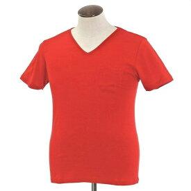 【新品】ルトロワ Letroyes コットン 半袖 Vネック Tシャツ JEAN BP レッド【サイズL】【RED】【S/S】【状態ランクN】【メンズ】【10702-956128】【1万円以上送料無料】