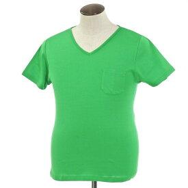 【新品】ルトロワ Letroyes コットン 半袖 Vネック Tシャツ JEAN BP グリーン【サイズL】【GRN】【S/S】【状態ランクN】【メンズ】【10702-956132】