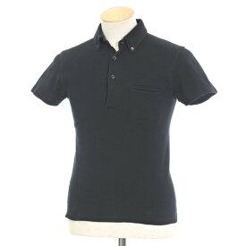 【中古】ルトロワ Letroyes コットン BDポロシャツ ブラック【サイズS】【BLK】【S/S】【状態ランクC】【メンズ】【10703-956110】[2105BPD]