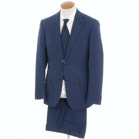 【中古】ベルベスト Belvest グレンチェック柄 モヘア混ウール 2つボタン スーツ ネイビー【サイズ46】【NVY】【S/S】【状態ランクB】【メンズ】【10401-956083】[2105APD]