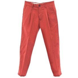 【新品】ピーティーゼロウーノ PT01 ウール ワンプリーツ カジュアルスラックス パンツ FORWARD レッド【サイズ30】【RED】【S/S】【状態ランクN】【メンズ】【10902-956071】【2010APD】