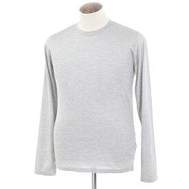 【SALE30%OFF】【返品不可】【新品】フェデーリ FEDELI シルク 長袖Tシャツ メランジグレー【サイズ50】【GRY】【S/S】【状態ランクN】【メンズ】【10701-956037】