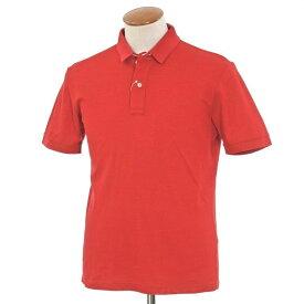 【中古】グランサッソ GRAN SASSO コットン 半袖ポロシャツ レッド【サイズ48】【RED】【S/S】【状態ランクA】【メンズ】【10703-955547】[2109CPD]