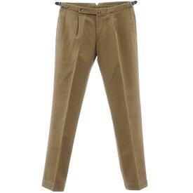【新品】スティレ ラティーノ STILE LATINO コットン ツープリーツ カジュアルスラックス パンツ オリーブブラウン【サイズ48】【BRW】【S/S】【状態ランクN】【メンズ】【10902-956009】【2010APD】