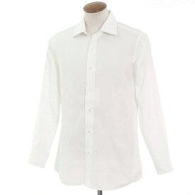 【中古】モノクローム ワイドカラー ドレスシャツ ホワイト【サイズ表記なし(43位)】【WHT】【S/S/A/W】【状態ランクB】【メンズ】【10601-955980】