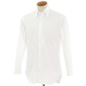 【中古】バルバ BARBA ボタンダウン ドレスシャツ ホワイト【サイズ39】【WHT】【S/S/A/W】【状態ランクC】【メンズ】【10601-955973】