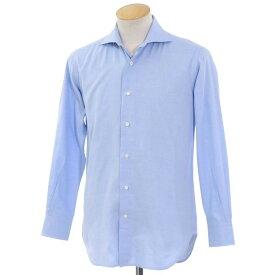 【中古】オリアン ORIAN コットン ワイドカラー シャツ ブルー【サイズ37】【BLU】【S/S/A/W】【状態ランクB】【メンズ】【10601-955974】[2101DPD]