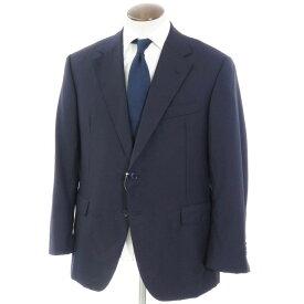 【最終価格】【中古】オックスフォード・クローズ Oxxford Clothes ウール テーラード2つボタン ジャケット ネイビー【サイズ42】【NVY】【A/W】【状態ランクB】【メンズ】【10101-955937】[2103EPD]